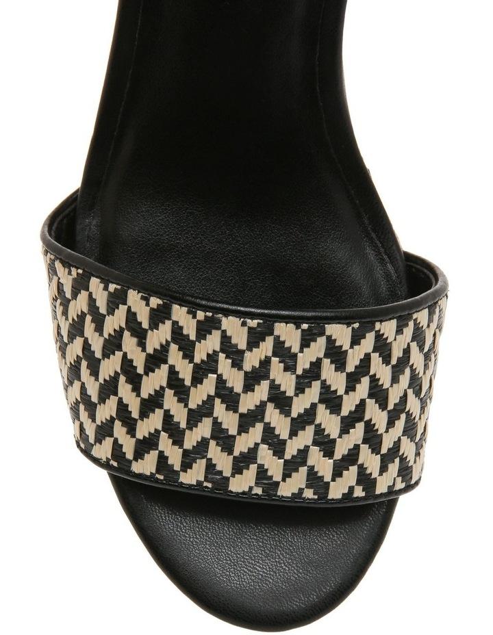 Samoa Natural/Black Sandal image 3