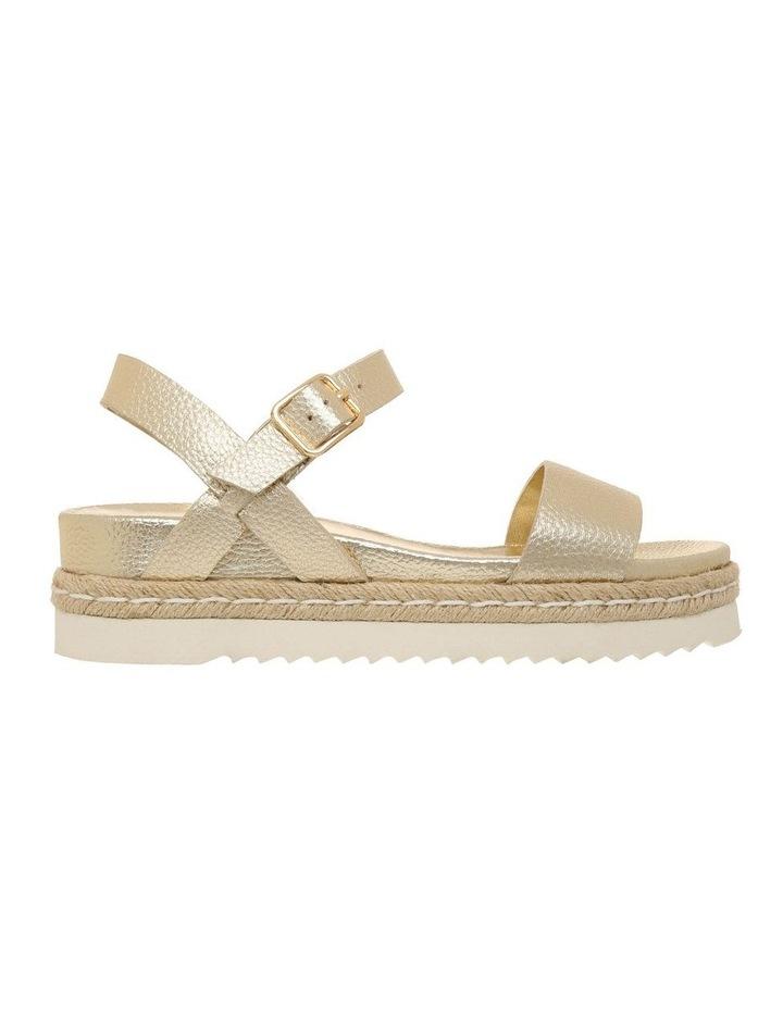 Frankie Champagne Leather Sandal image 1