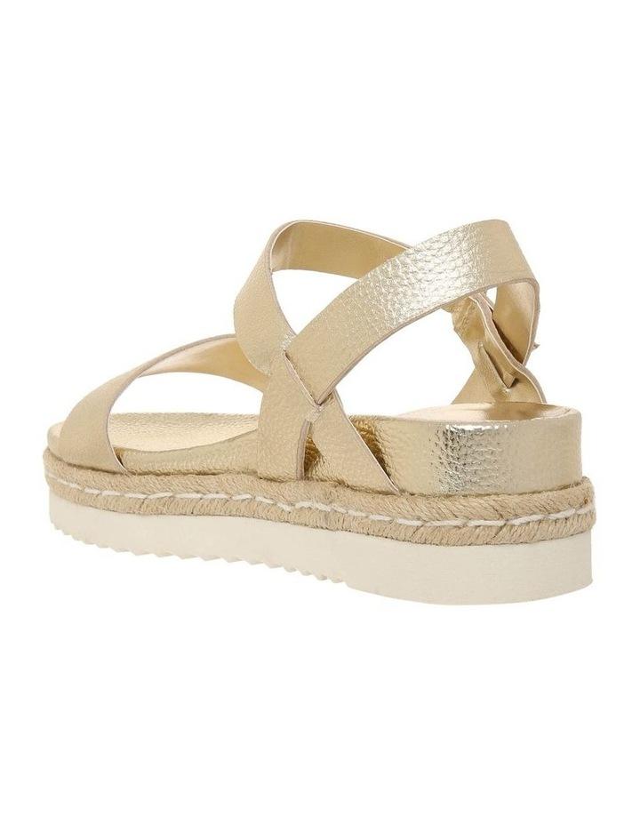 Frankie Champagne Leather Sandal image 2