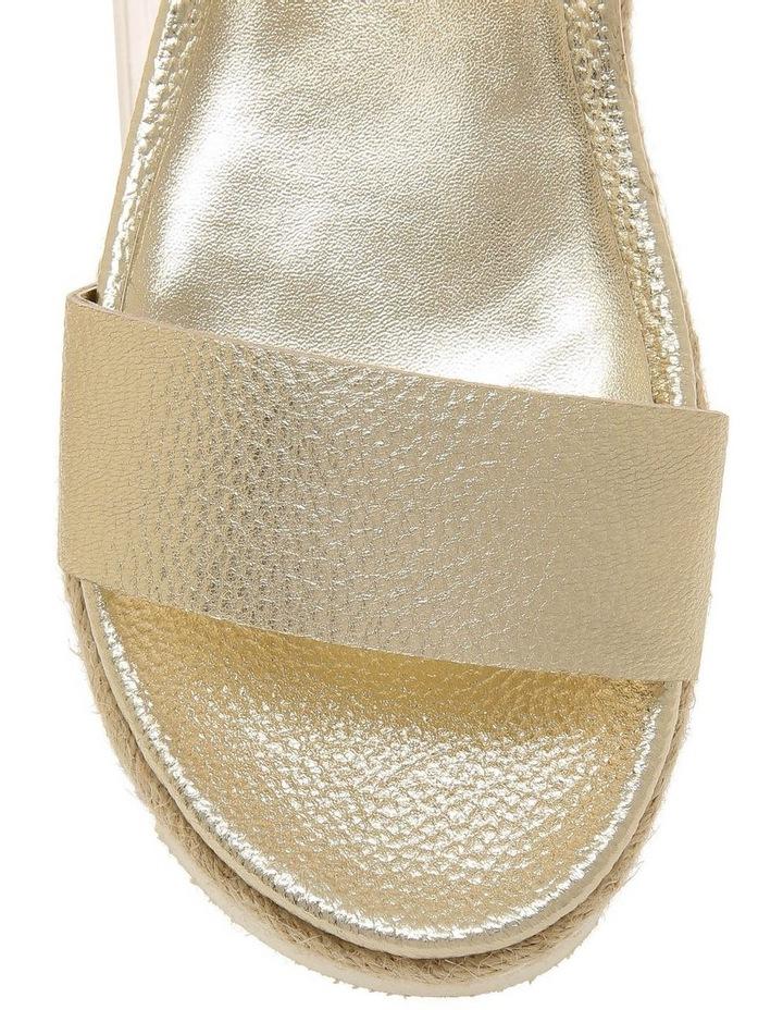 Frankie Champagne Leather Sandal image 3