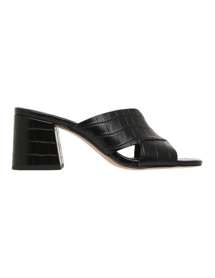Cayman Black Leather Sandal image 1