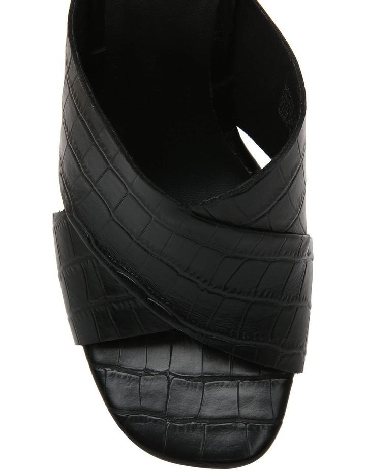 Cayman Black Leather Sandal image 3
