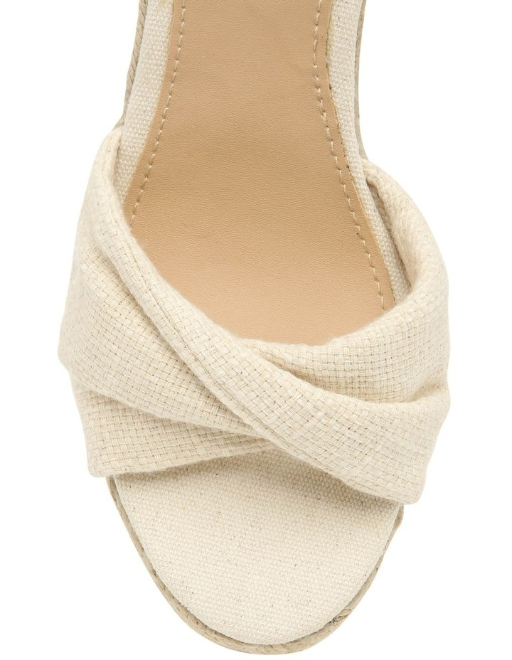 Barbados Natural Fabric Sandal image 3
