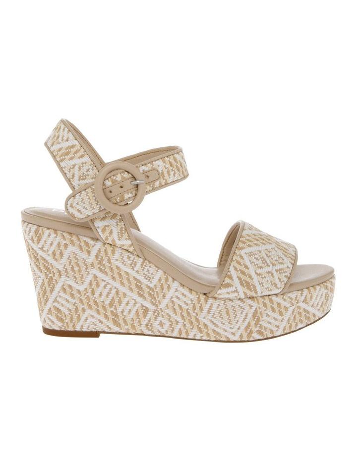 Samoa Sandal in Natural/White image 1