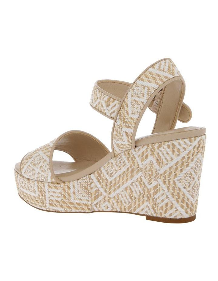 Samoa Sandal in Natural/White image 2