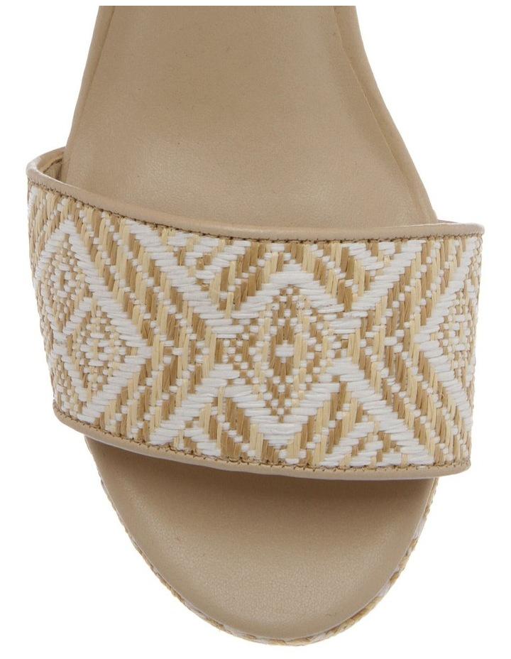 Samoa Sandal in Natural/White image 3