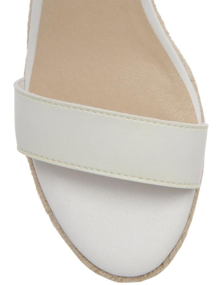 Alyssa White Sandal image 2