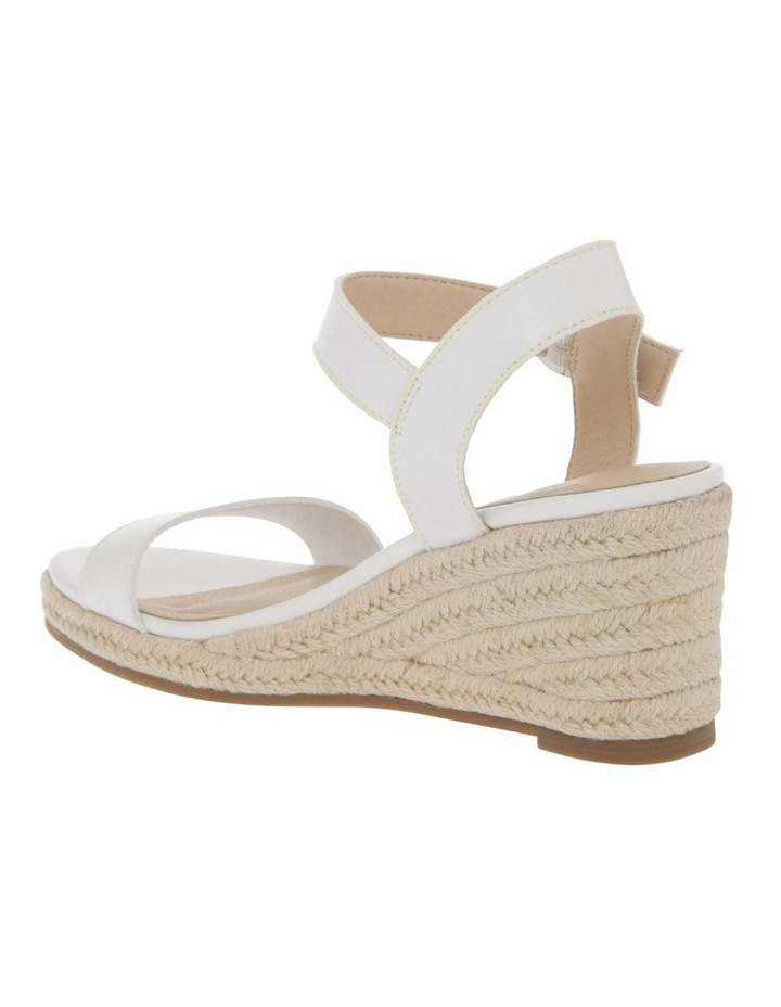 Alyssa White Sandal image 3