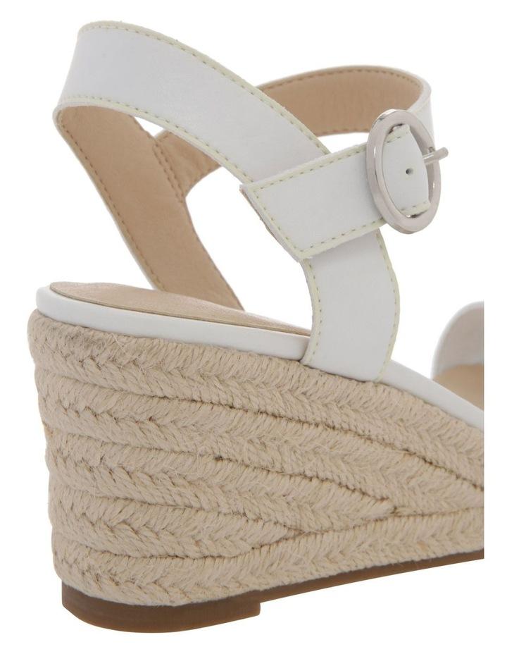 Alyssa White Sandal image 4