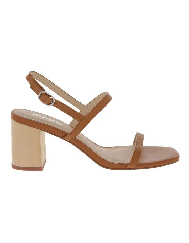 Paige Tan Leather Sandal image 1