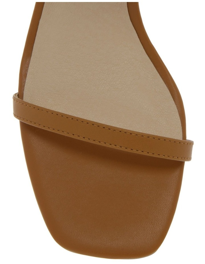 Paige Tan Leather Sandal image 2