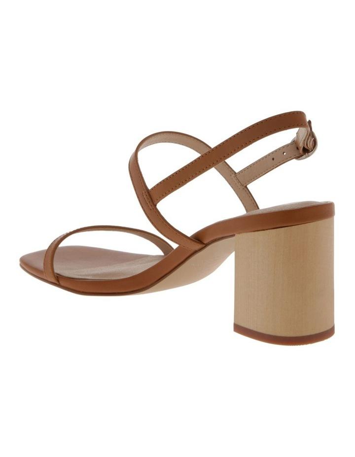 Paige Tan Leather Sandal image 3