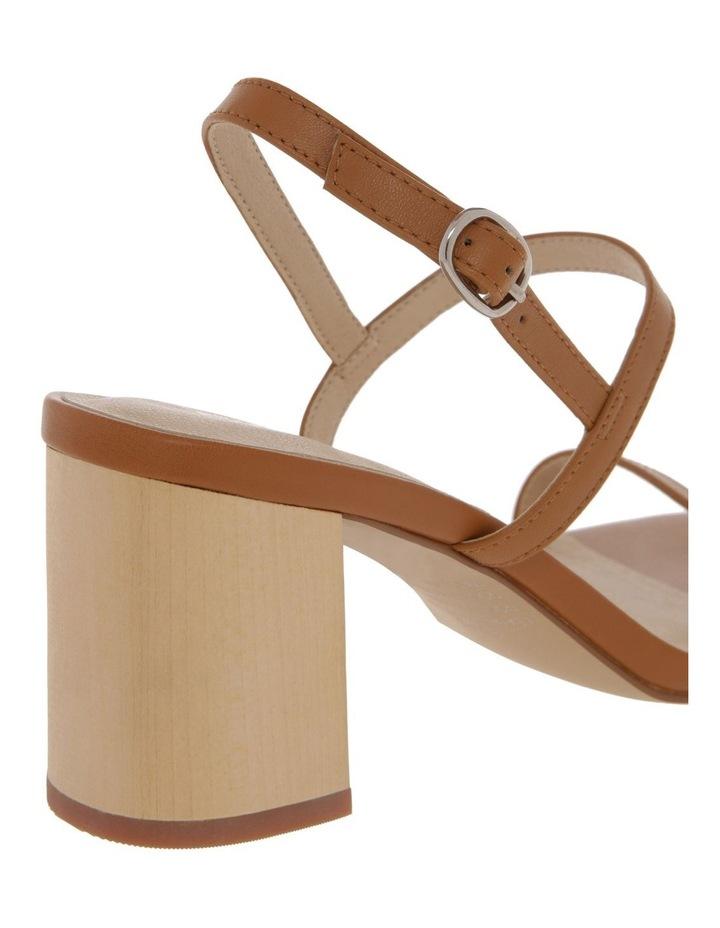 Paige Tan Leather Sandal image 4