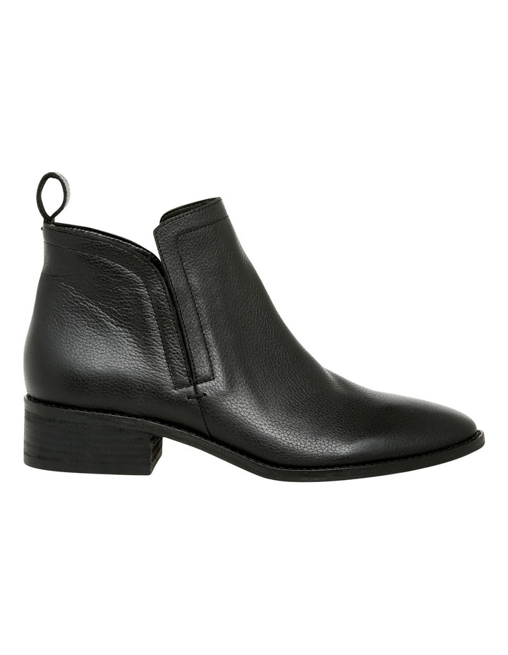 Luccia Black Leather Boot image 1