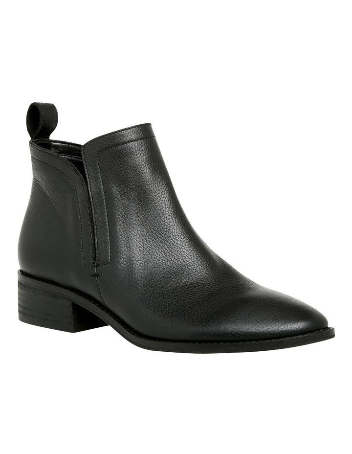Luccia Black Leather Boot image 2