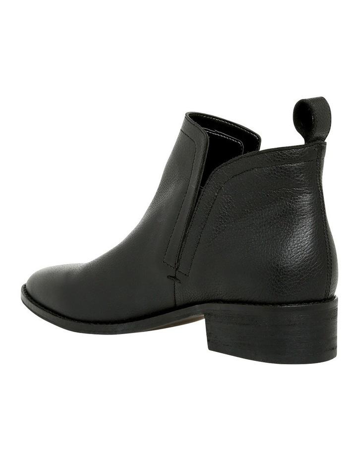 Luccia Black Leather Boot image 3
