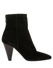 Evie Black Suede Boot