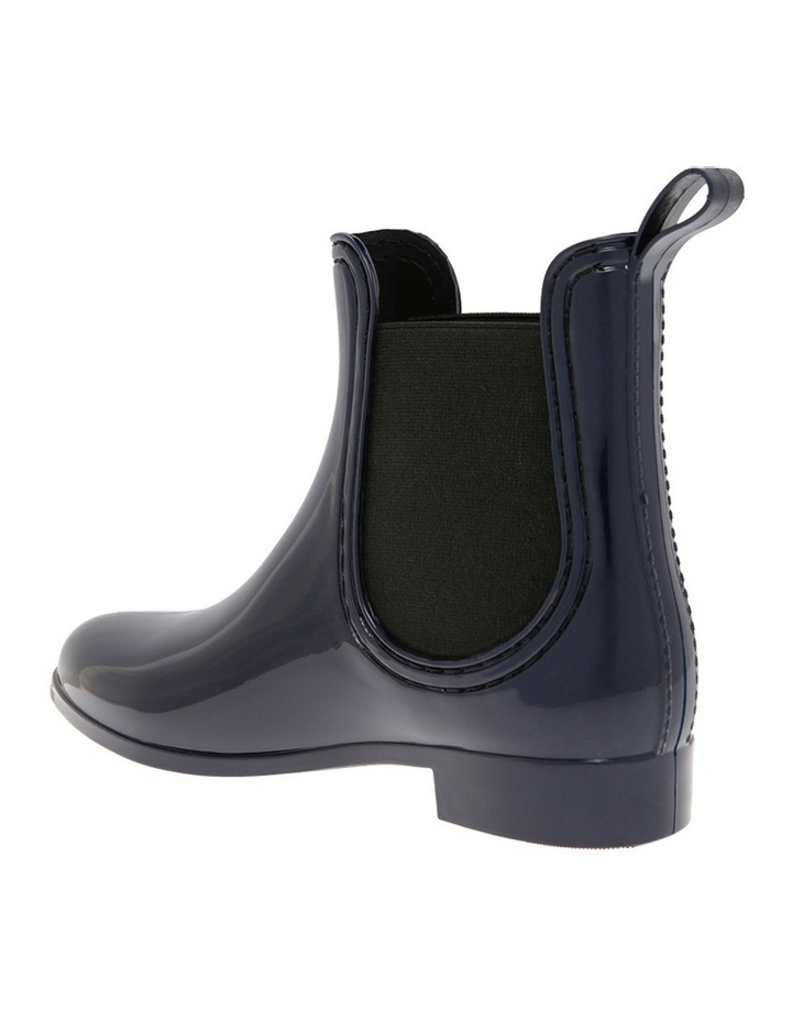 Rain Navy Boot image 2