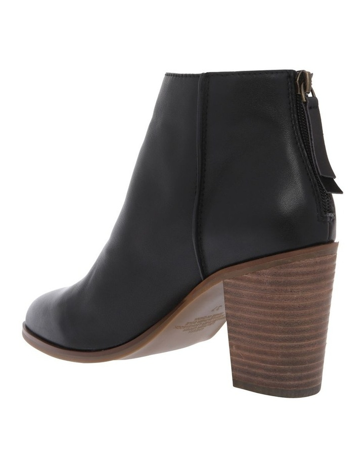 Cheska Black Leather Boot image 2