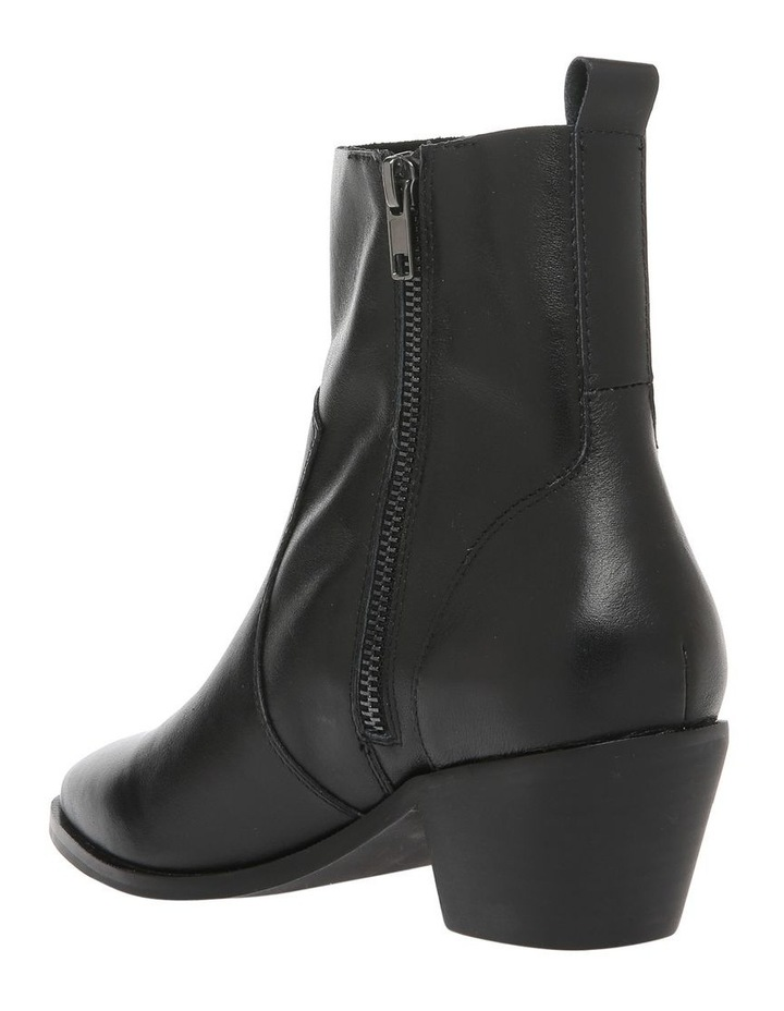 Arizona Black Leather Boot image 2
