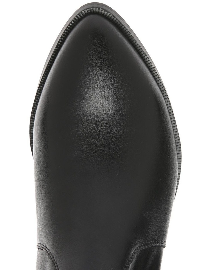 Arizona Black Leather Boot image 3
