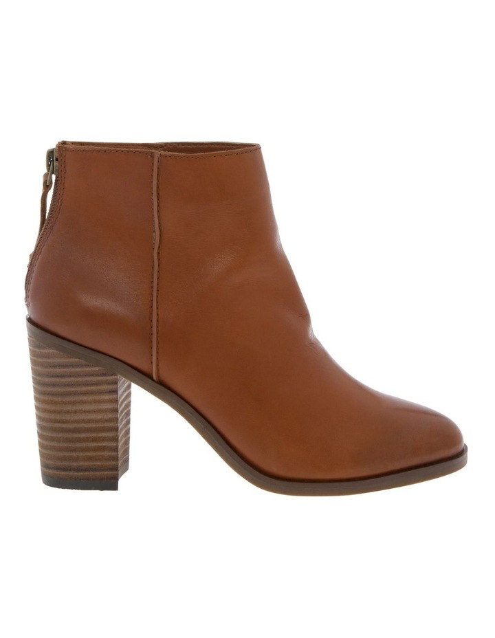 Cheska Tan Cow Leather Boot image 1