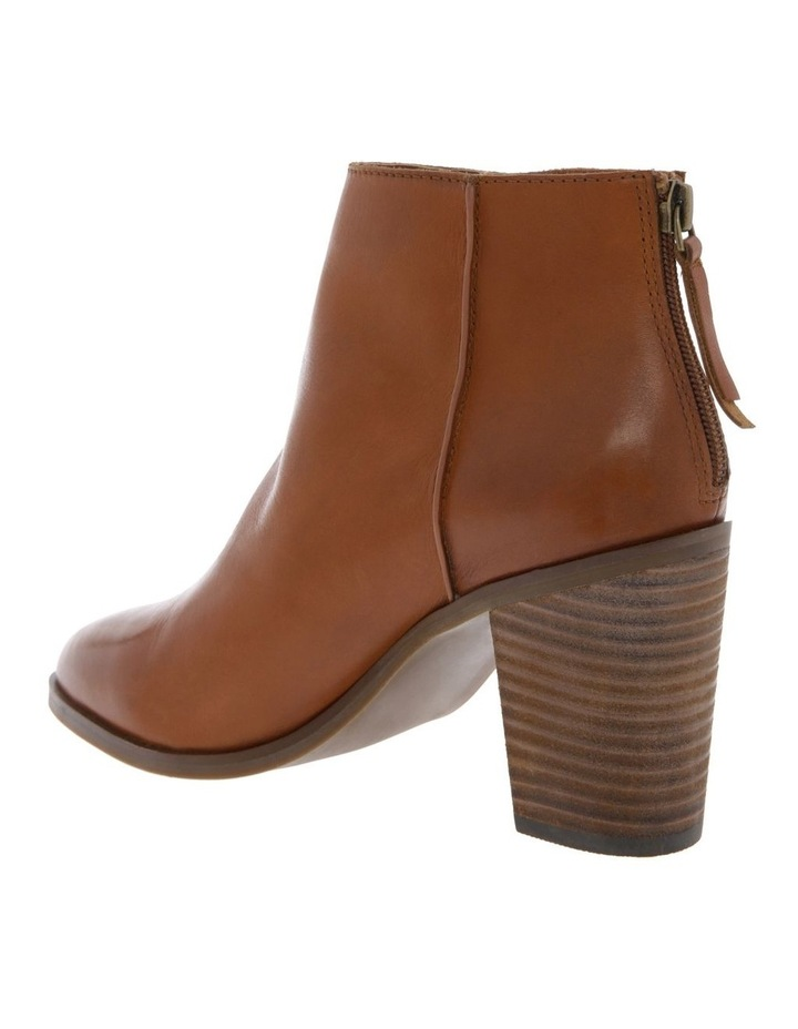 Cheska Tan Cow Leather Boot image 2