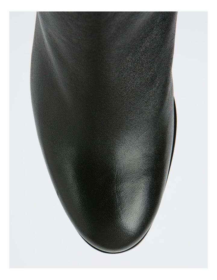 Addison Black Heeled Ankle Boot image 2
