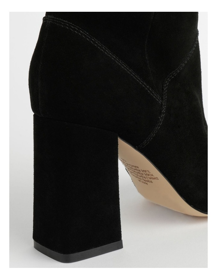 Alana Black Suede Boot image 4