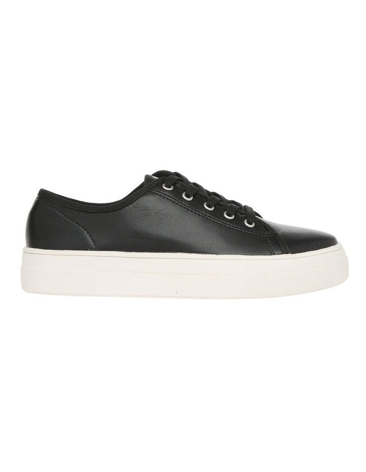 Caty Black Leather Sneaker image 1