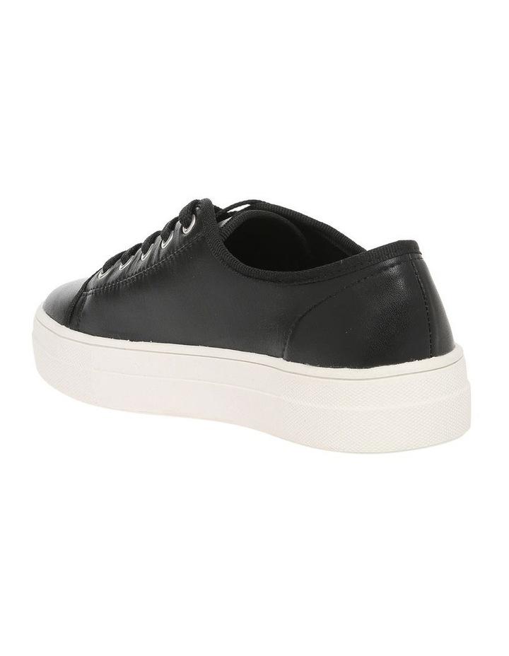 Caty Black Leather Sneaker image 2