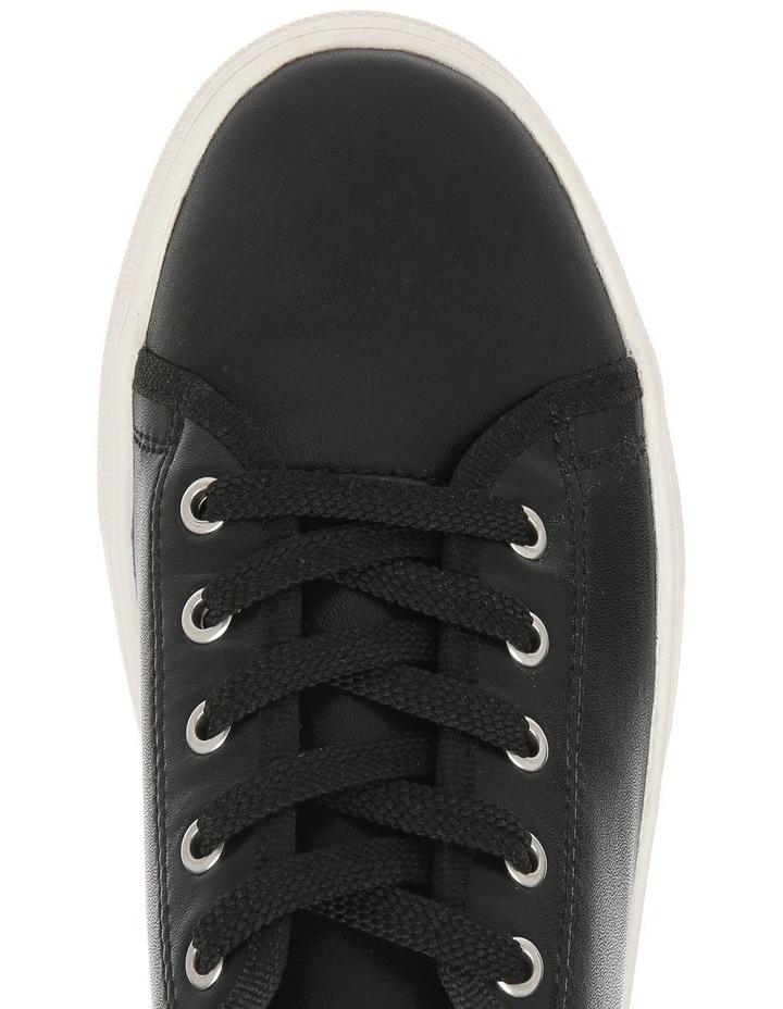 Caty Black Leather Sneaker image 3