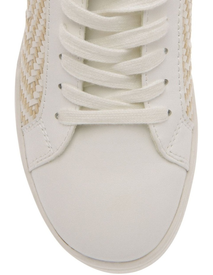 Luxe White Sneaker image 3