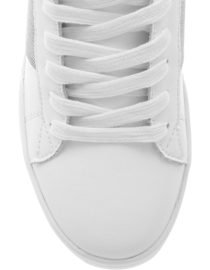 Lex White Sneaker with Chain Detailing image 3