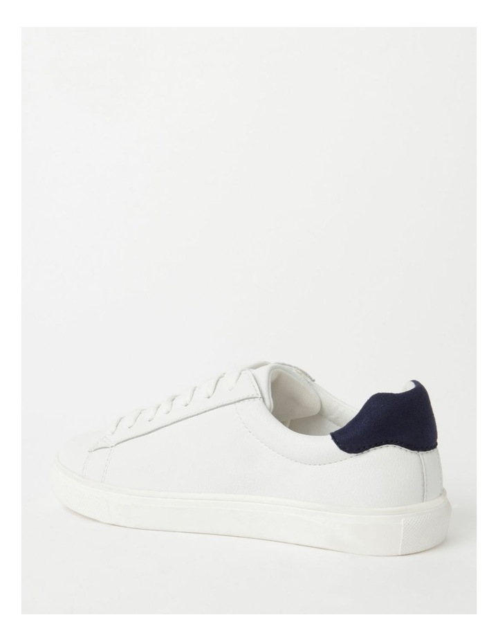 Billie White With Navy Sneaker image 3