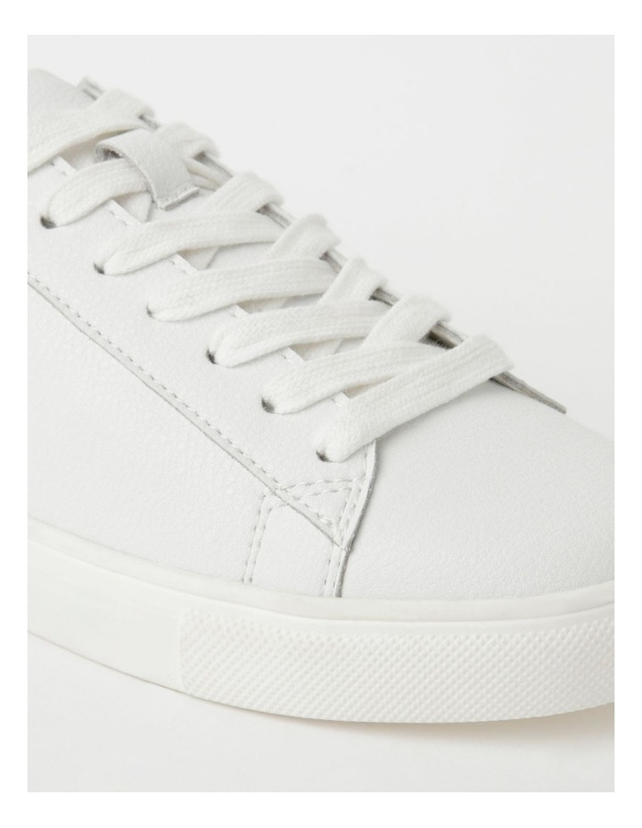 Billie White With Navy Sneaker image 4