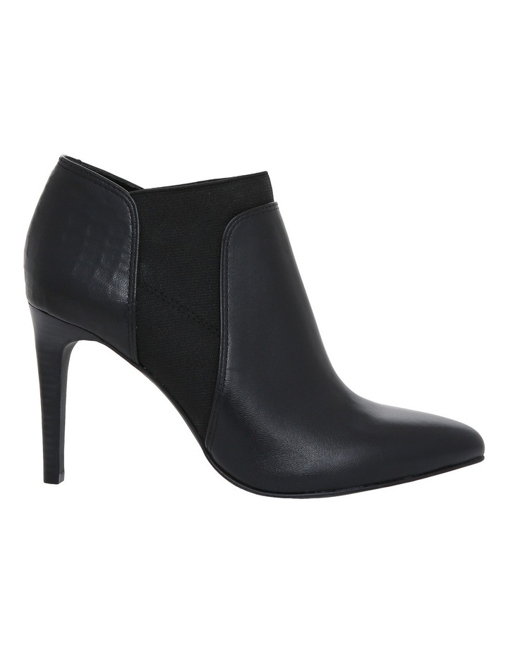 Halle Black Leather/Croc  Boot image 1