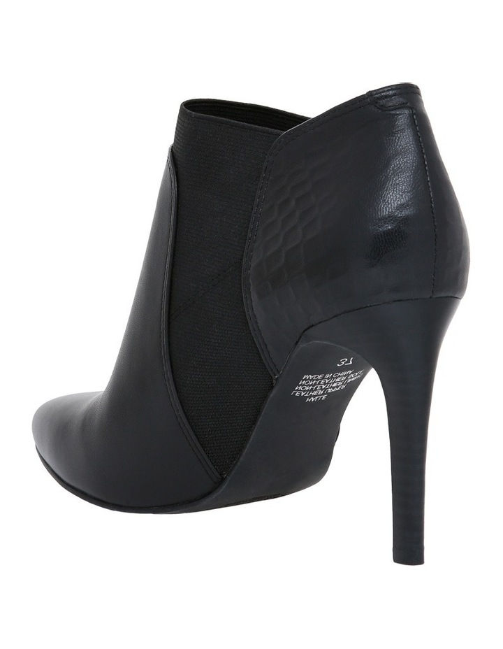 Halle Black Leather/Croc  Boot image 2