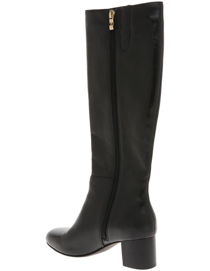 Dora Black Leather Boot image 2