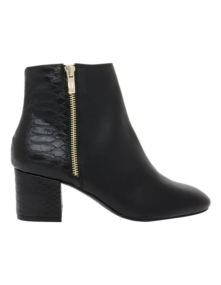 Courtney Black Leather Boot image 1