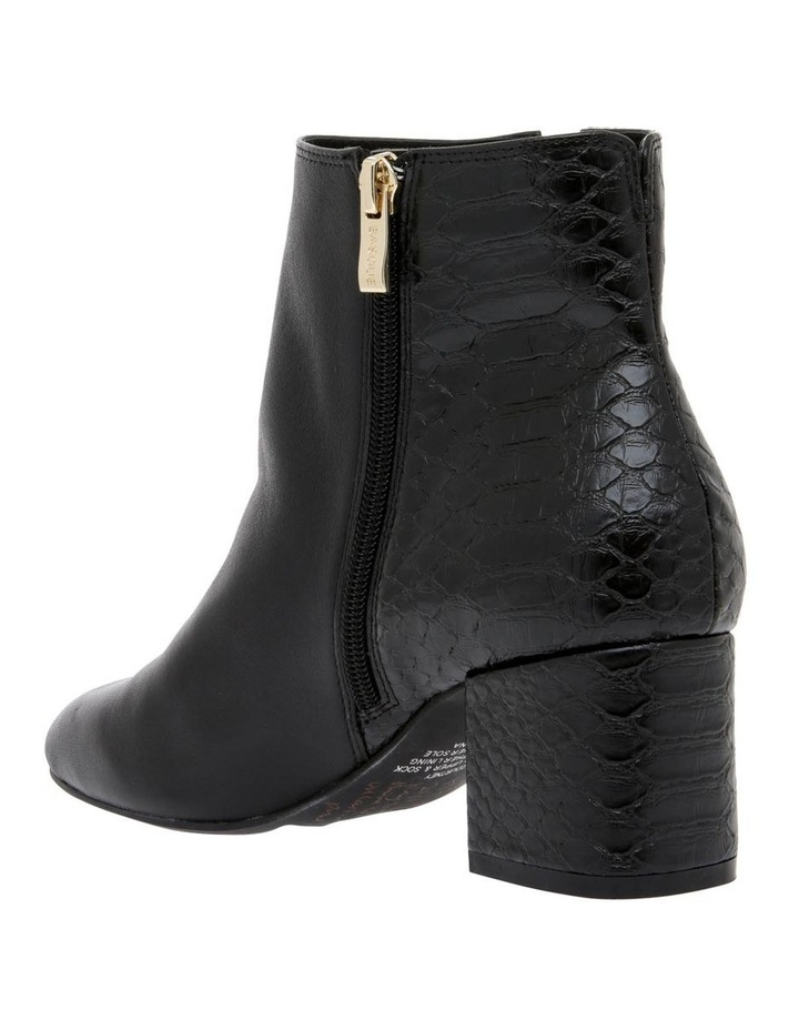 Courtney Black Leather Boot image 2