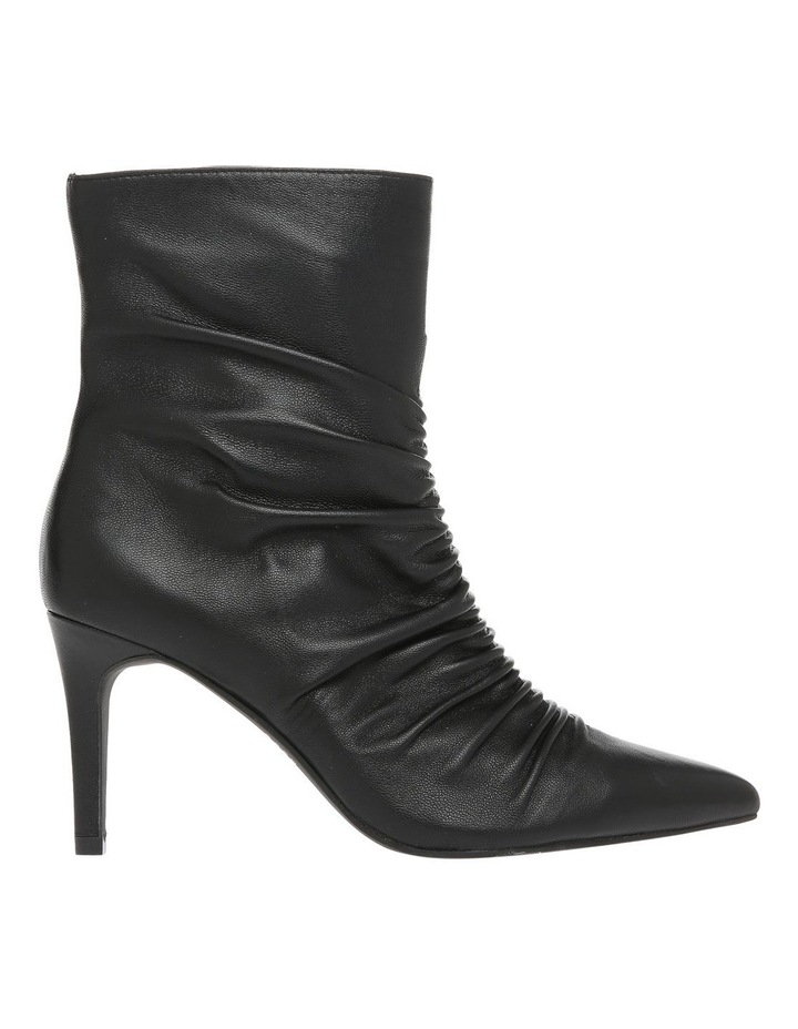 Hilda Black Leather Boot image 1