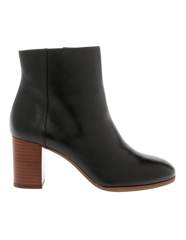 Marion Black Cow Leather Boot image 1