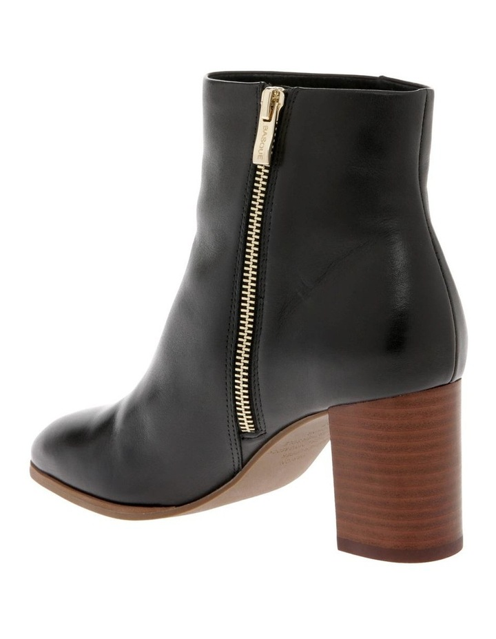 Marion Black Cow Leather Boot image 2