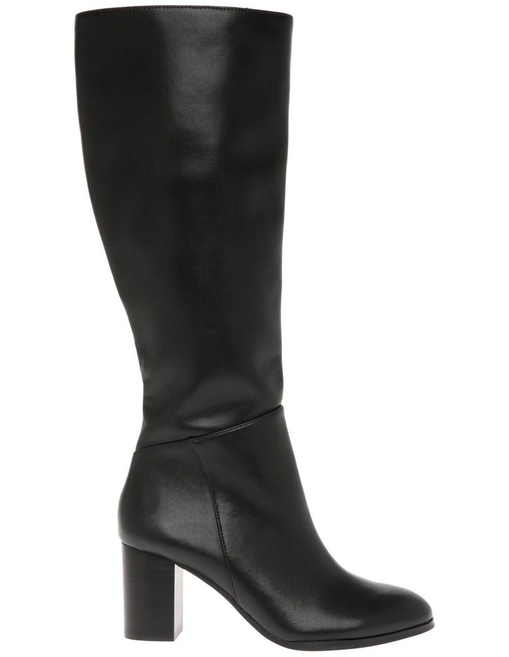 Robyn Black Cow Leather Boot image 1