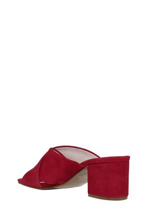 Basque - Tango Red Suede Sandal