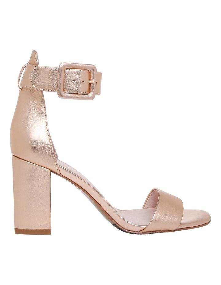 Salsa Rose Gold Leather Sandal image 1