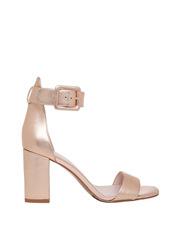 Salsa Rose Gold Leather Sandal