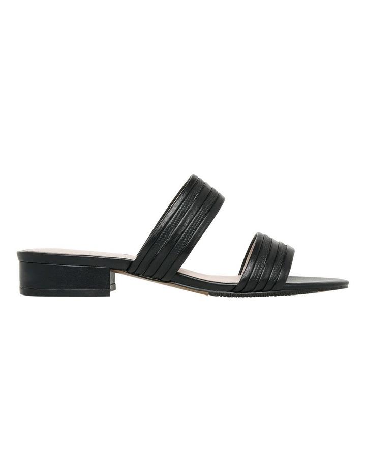Sashay Black Leather Sandal image 1