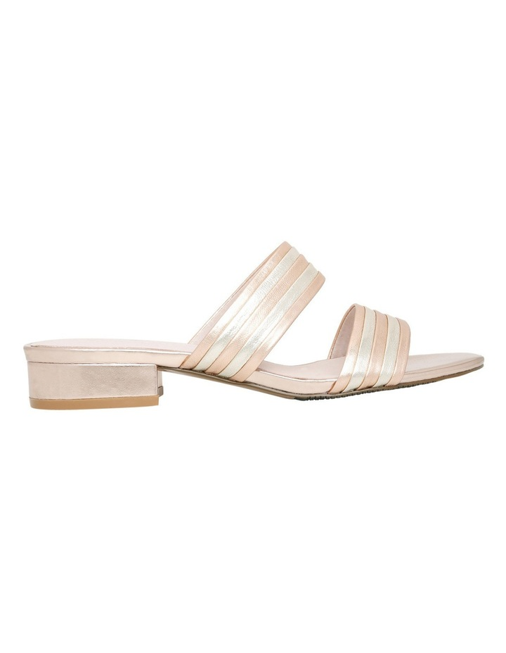 Sashay Rose Gold Leather Sandal image 1